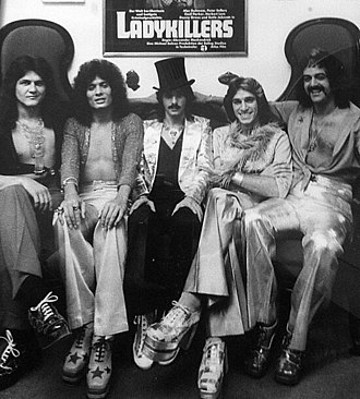 Kracker - The group Kracker in London, UK. 1973
