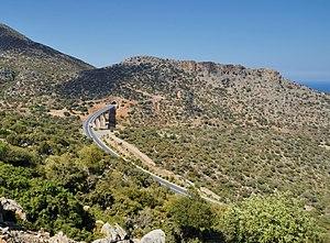 European route E75 - European route E75, Crete