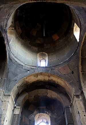 Saint Christopher Monastery - Image: Kristapori Vank Dome Interior