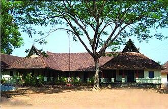 Kerala model - A government school in Kottarakara