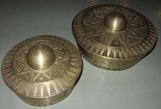 Maguindanao - Brass gongs used as a main melodic instrument in the Kulintang ensemble.