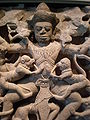 Kumbhakarna battles the monkeys Asian Art Museum SF B66S7 n1 detail 1.JPG