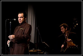 Kurt Elling - Kurt Elling and bassist Rob Amster