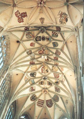St. Barbara's Church, Kutná Hora - Image: Kutná Hora Cathedral St Barbara interior 6