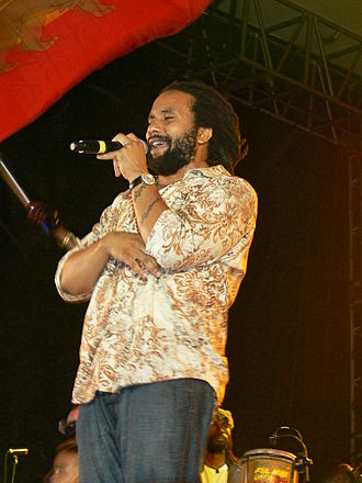 Ky-Mani Marley - Ky-Mani Marley, Concert in 2008.