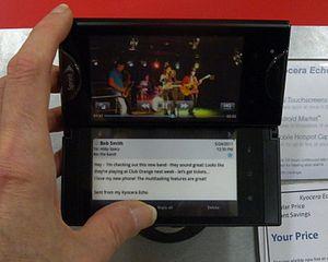 Dual-touchscreen - Kyocera Echo