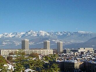 Roger Anger - L'Île Verte in Grenoble.