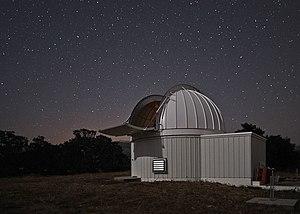 Las Cumbres Observatory - LCOGT 80 cm telescope enclosure at Sedgwick Reserve