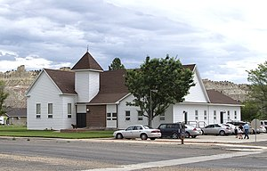 Cannonville, Utah - LDS church in Cannonville