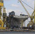 LHA-6 USS America under construction at Ingalls Shipbuilding October 19 2001 mg 0184.jpg