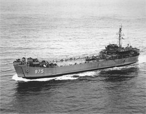 USS Marion County (LST-975) - Image: LST 975
