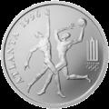 LT-1996-50litų-XXVI Olympic Games-b.png