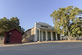 La Grange, California - Stage stop in Le Grange Historic District.