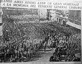 La Nación - Argentina - Homenaje a Uriburu (primera plana) - 28MAY1932.jpg