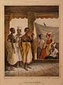 La Signare de Gorée avec ses esclaves-Musée de la Compagnie des Indes.jpg