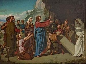 Juan de Barroeta - Image: La resurrección de Lázaro, de Juan de Barroeta (Museo del Prado)