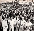 Labor strike in Milan, 1975.jpg
