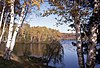 Lac dans les Laurentides