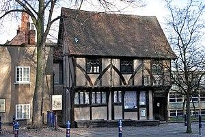 Severn's Building - Image: Lace Centre, Nottingham 1