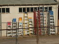 Ladders in Alpine Texas 2002.JPG