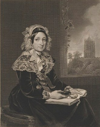 Francis Grant (artist) - Engraving of Lady Elizabeth Isabella Norman, mother of his second wife, after a portrait by Francis Grant