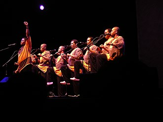 Ladysmith Black Mambazo - Ladysmith Black Mambazo in concert at the Ravinia Festival, Illinois 2006