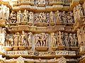 Lakshmana Temple Western Group of Temples Khajuraho India - panoramio (5).jpg