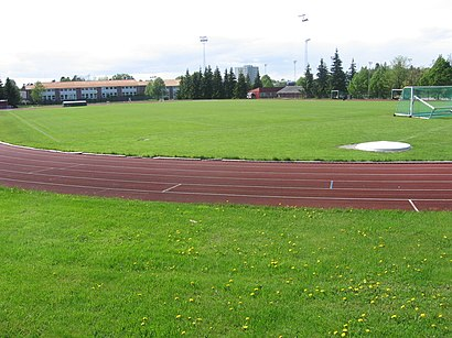 How to get to Lambertseter Stadion with public transit - About the place