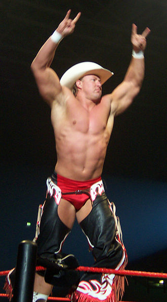 Lance Cade - Cade posing on the turnbuckles in April 2007