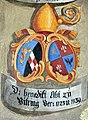 Landhaus Klagenfurt Kleiner Wappensaal Abt Benedikt zu Viktring 1723-1739 25052011 887.jpg