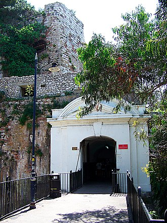 Landport (Gibraltar) - Image: Landport Gate