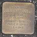 Landshut Stolperstein Ansbacher, Selma.jpg