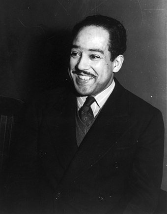 Jazz poet and resident Clevelander Langston Hughes. Langston Hughes cph.3a43849.jpg