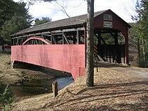 Larrys Creek Covered Bridge 2.JPG