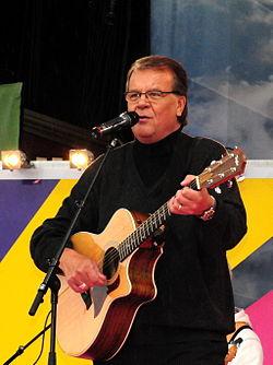 Lasse Berghagen på Sommarkrysset, juni 2009.