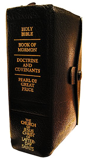 The Church of Jesus Christ of Latter-day Saints - The written canon of the LDS Church is referred to as its standard works.