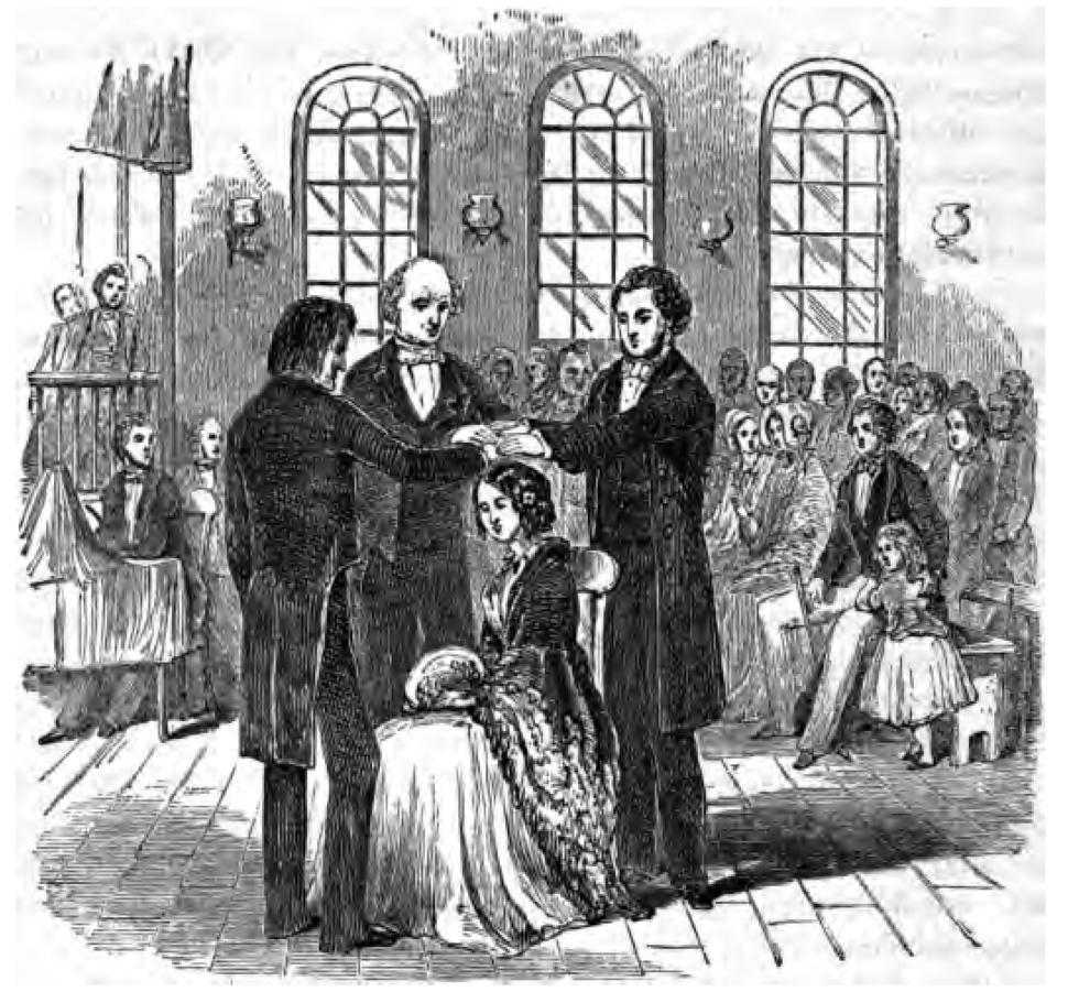 Latter Day Saint confirmation (Mayhew 1852)