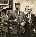 Laurence Housman and Clemence Housman, c.1910. (22967928012).jpg