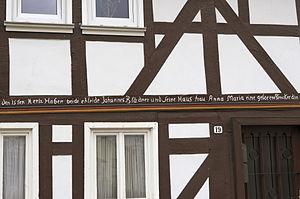 Lauterbach, Hesse - Image: Lauterbach (Der Hexer) WLMMH 66026 2011 09 17 03