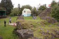 Lava rocks in a park in the centre of Hafnarfjördur-2.jpg