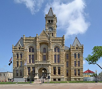 Eugene T. Heiner - Lavaca County Courthouse