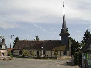 Le Noyer-en-Ouche - Image: Le Noyer en Ouche Eglise