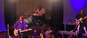 Leeland (band) - Leeland in 2007 L-R: Leeland Mooring, Mike Smith, Jack Mooring, Jake Holtz