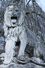 Leeuw in het Kronenburgerpark