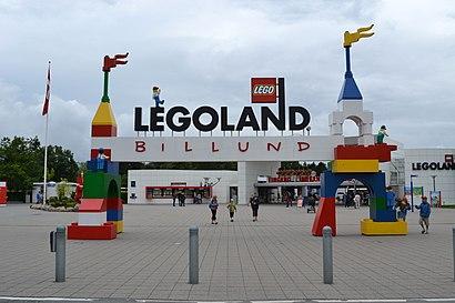 Sådan kommer du til LEGOLAND Billund Resort med offentlig transport – Om stedet