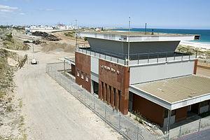North Fremantle, Western Australia - The old Leighton Marshalling Yards and Leighton Station.