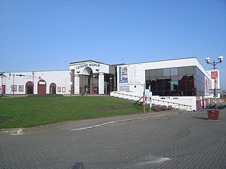Bridlington - Leisure World leisure centre before demolition
