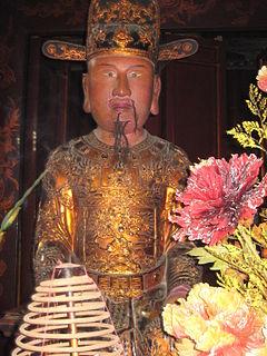 Vietnamese emperor