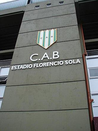 Estadio Florencio Sola - Image: Lenchosola
