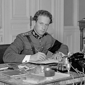 Leopold III of Belgium - Leopold, pictured in 1934